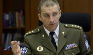 áčelník Vojenské policie (VP) Pavel Kříž