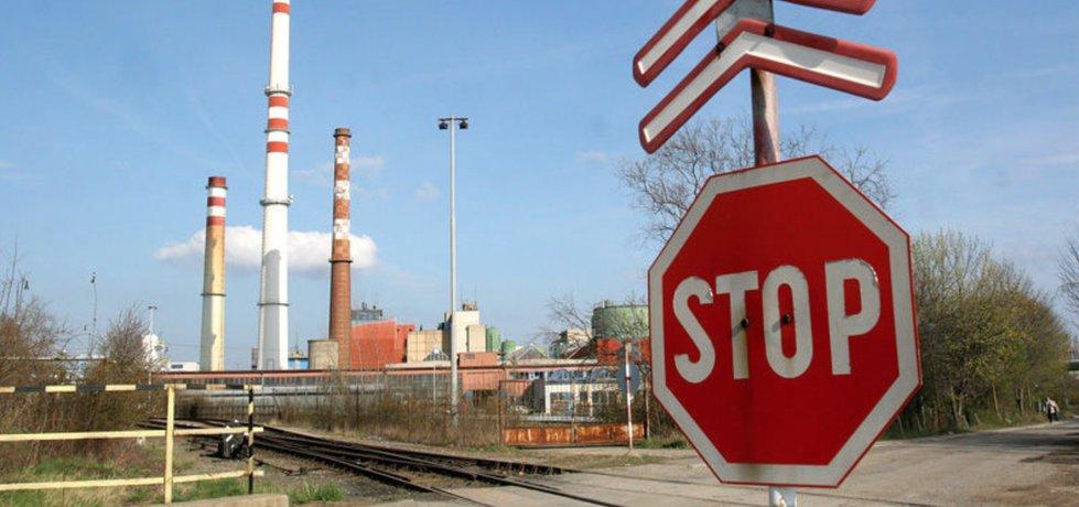Železniční překladiště v Praze 10
