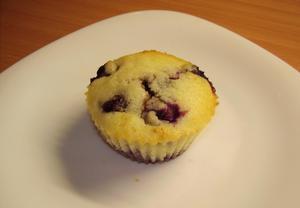 Muffinky borůvkové