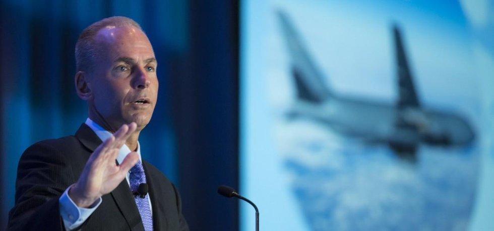 Výkonný ředitel Boeingu Dennis Muilenburg