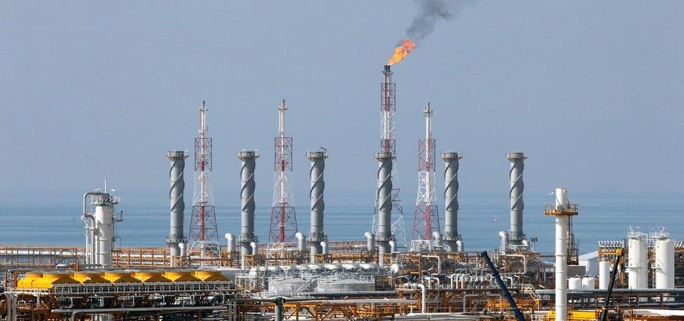 Naleziště zemního plynu South Pars v Íránu