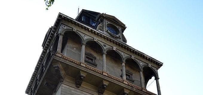 Vodárenské věž na Letné
