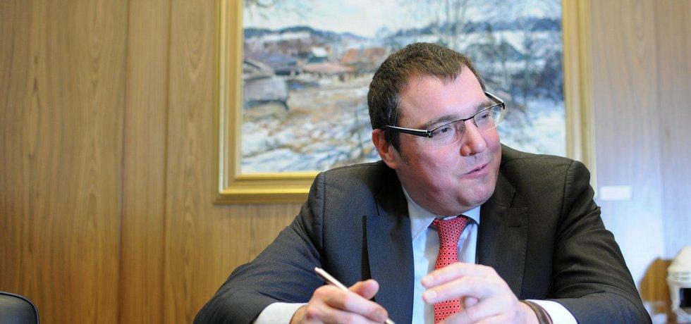 Guvernér ČNB Miroslav Singer