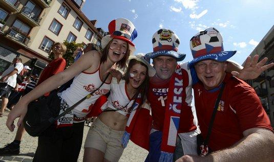 čeští fotbaloví fanoušci