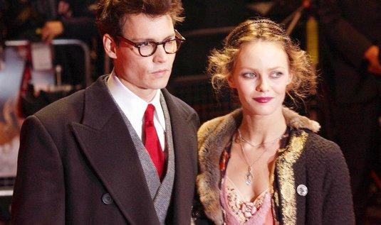 Johnny Depp a Vanessa Paradisová