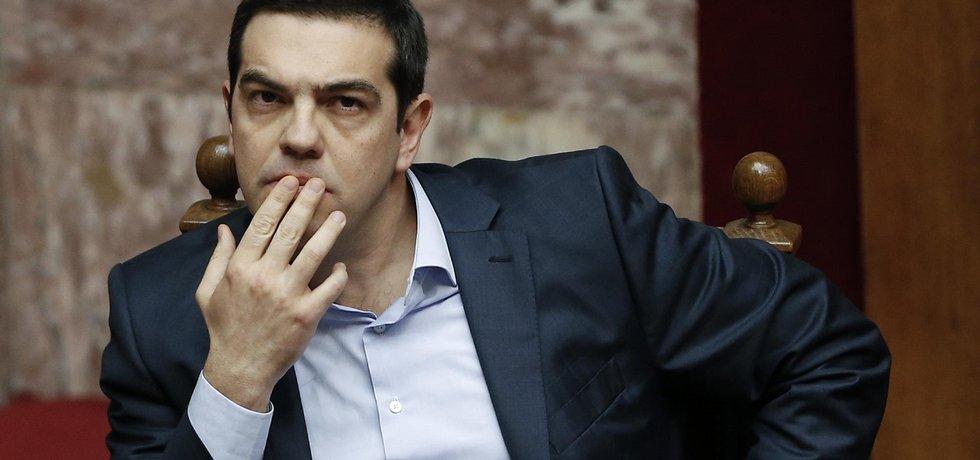 Řecký premiér Alexis Tsipras