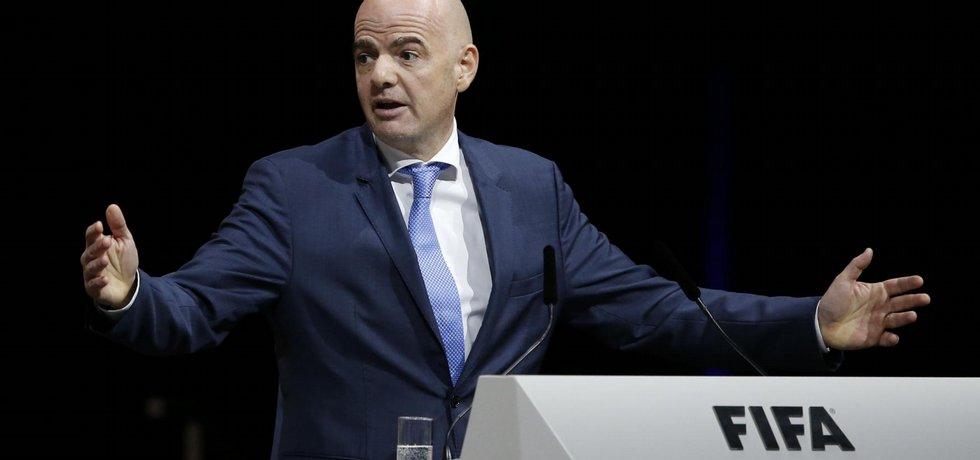 Nový šéf FIFA Giovanni Infantino