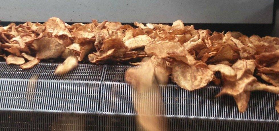 Výrobna Tretter's Chips v Nehvizdech u Prahy