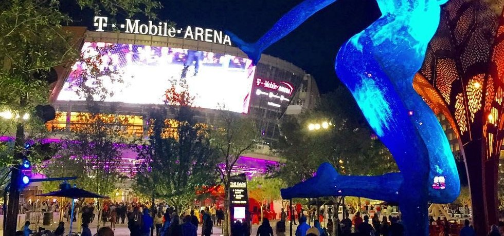 T-Mobile Arena v Las Vegas