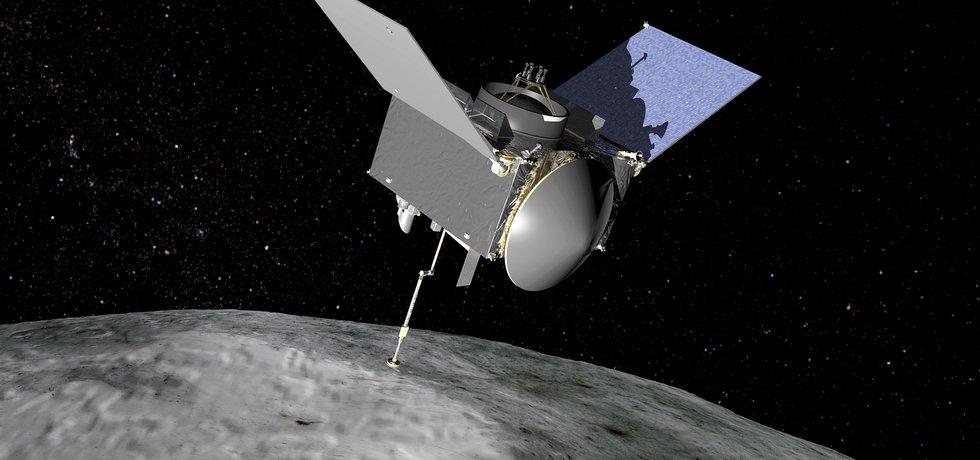 Mise OSIRIS-REx (Zdroj: NASA/GSFC via Wikimedia Commons)