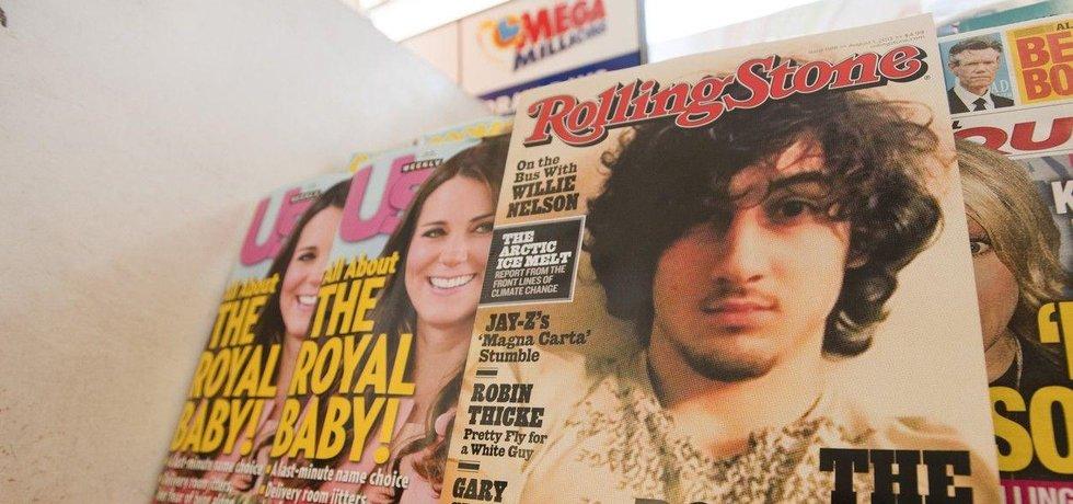Obálka časopisu Rolling Stone s bostonským atentátníkem Tsarnajevem na titulní straně vzbudila před třemi lety kontroverzi.