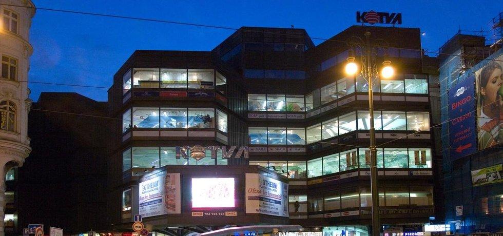 Obchodní dům Kotva na pražském Náměstí Republiky