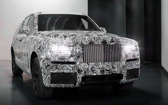Project Cullinan, první SUV Rolls-Royce