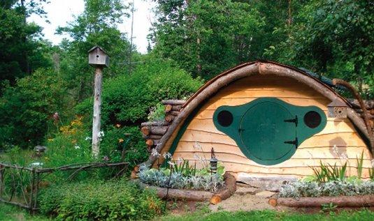 dům v hobbitím stylu