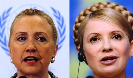 Hillary Clintonov a Julija Tymoenkov