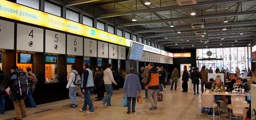 autobusové nádraží Florenc