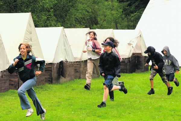 tabor Druhy letních dětských táborů