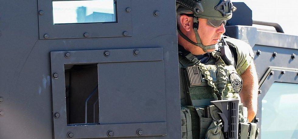 Americká policie - ilustrační foto (Zdroj: čtk)