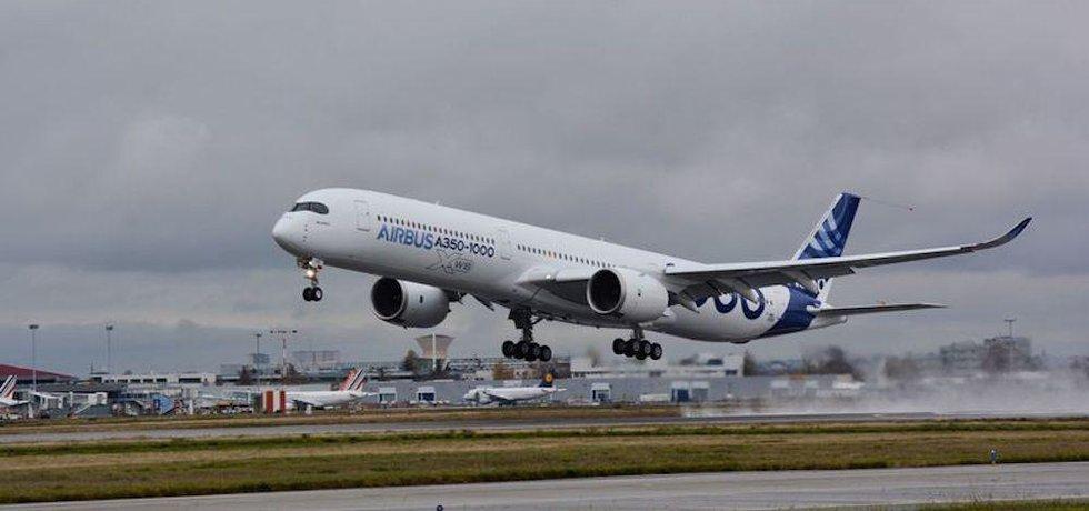 Airbus A350-1000 startuje ke svému prvnímu letu