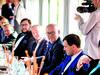 Zleva: Michal Jekielek, PWC Legal; Leopold Sulovský, horolezec a politik; Vít Ruprich, Agentura pro regionální rozvoj; Tomáš Kálala, Conseq Investment Management