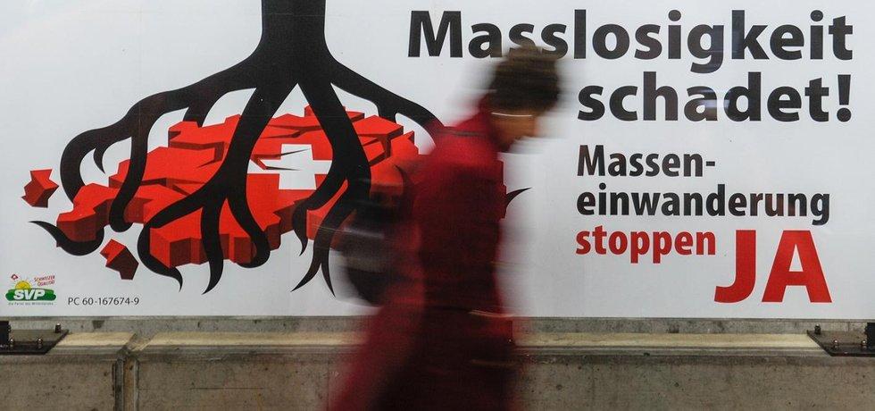 Švýcarsko chystá imigrační kvóty (Zdroj: Profimedia)
