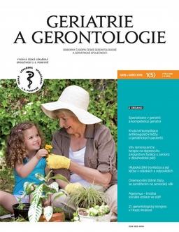 Obálka Geriatrie a gerontologie