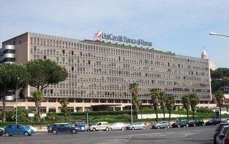 Budova banky UniCredit v Římě