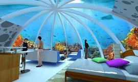 Plánovaný projekt Coral World Park u filipínského ostrova Palawan