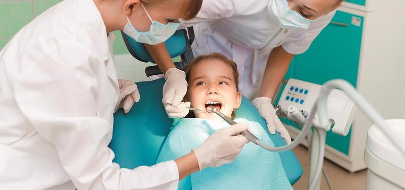 *dítě, stomatologie, zubař