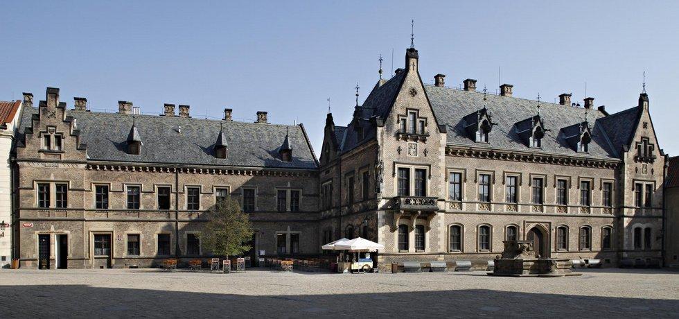 Mockerovy domy na Pražském hradě