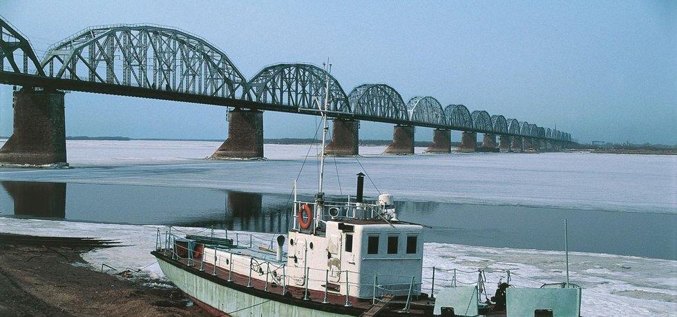 Most přes řeku Amur, ilustrační foto