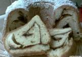 Bábovková roláda a la tvarohový mazanec
