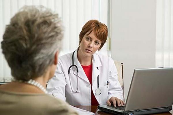 lékařka, pacientka, ordinace, praktik