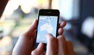 iPhone, mapa - ilustrační foto