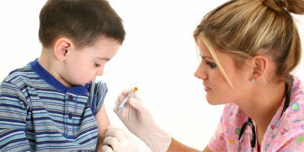 očkování, vakcinace, dítě, injekce