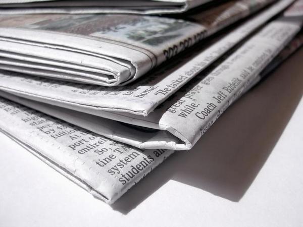 noviny, média