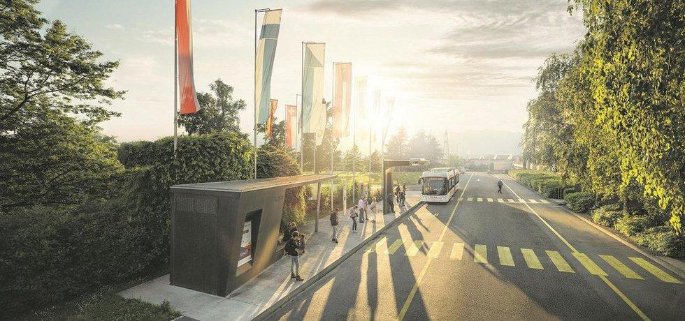 Ženevské elektrické autobusy se budou nabíjet v každé stanici.