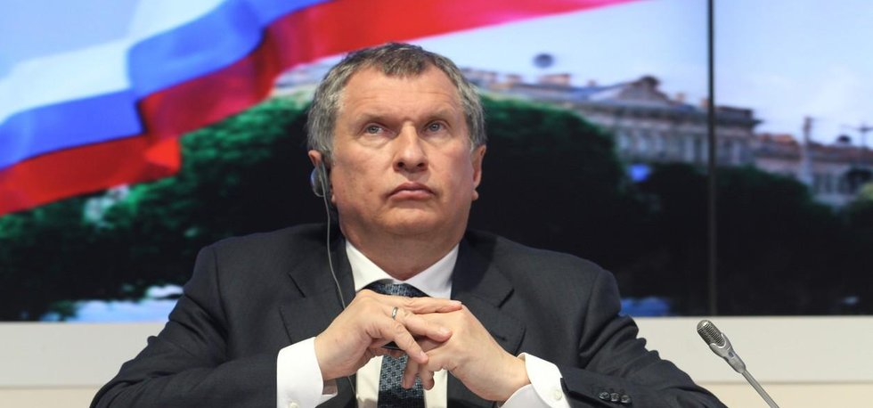 Šéf Rosněfti Igor Sečin
