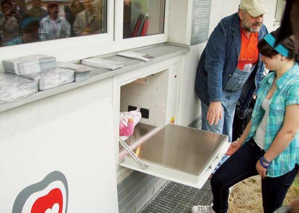 Babybox v jablonecké nemocnici