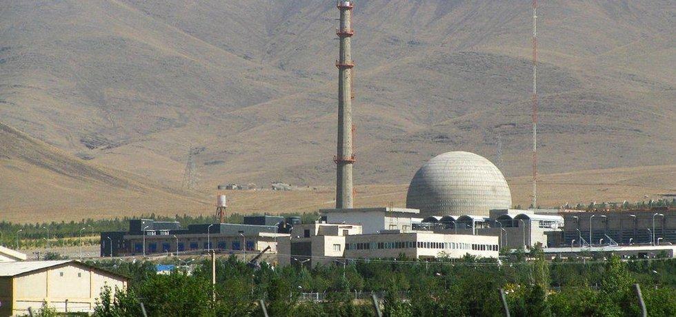 Íránský jaderný reaktor v Araku
