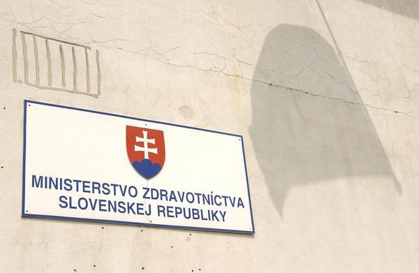 Slovensko, ministerstvo zdravotnictví