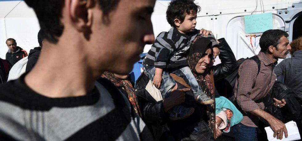 Ilustrační foto migrantů