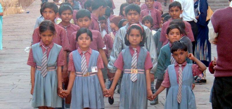 Indie, děti, škola