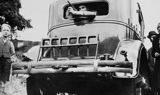 Snímek Cadillacu Al Capona z roku 1938