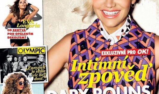 Titulní strana časopisu OK!