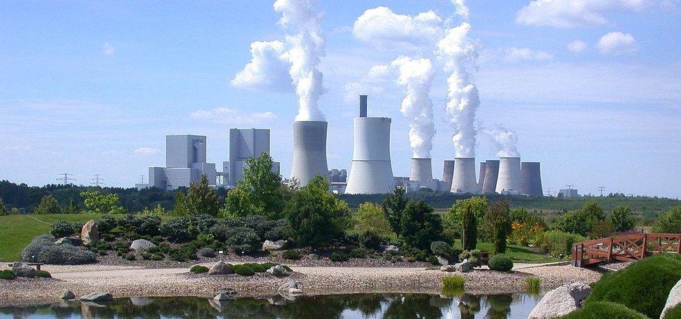 Německá hnědouhelná elektrárna Boxberg