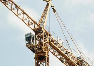 Jeřáb, stavba, výstavba, stavební práce