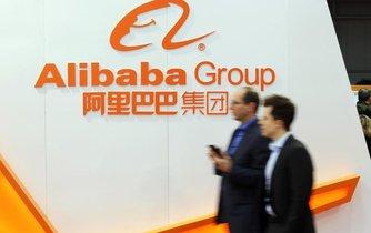 Logo společnosti Alibaba
