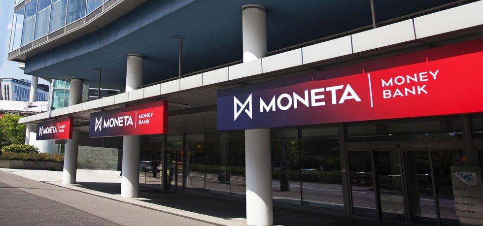 Pobočka Moneta banky v Praze