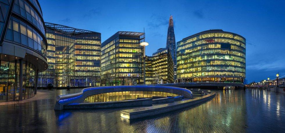 Kancelářský komplex v Londýně